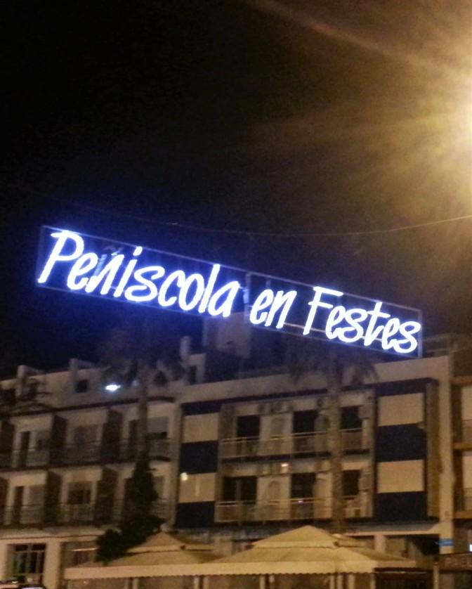 Peniscola sign