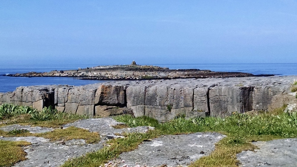Edge of Burren into Sea