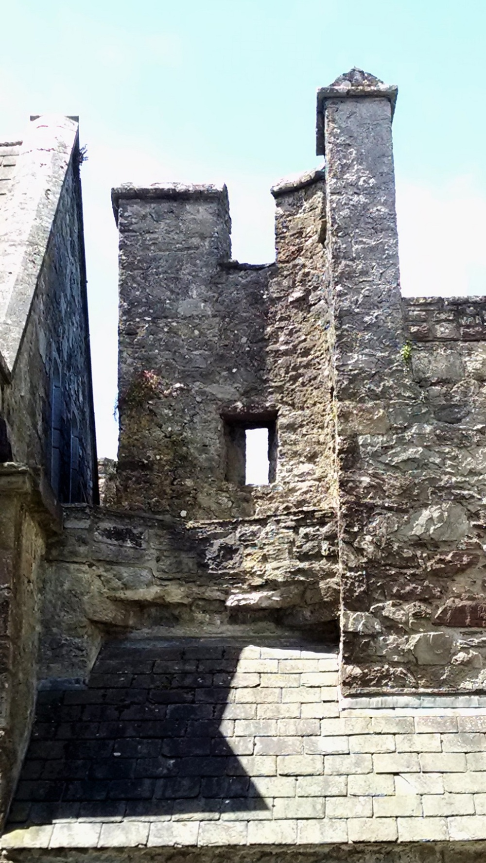 Top of Cahir Castle