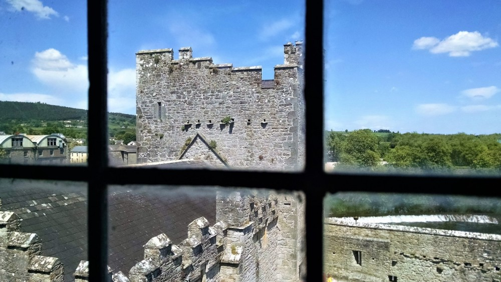 View on Upper Floor Cahir Castle