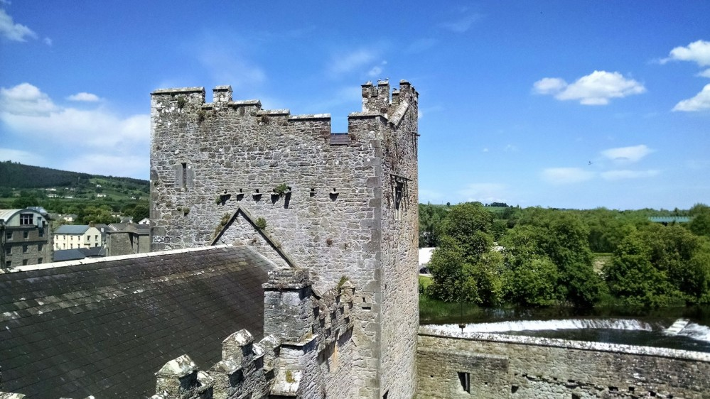 View on Upper Floor Cahir Castle2